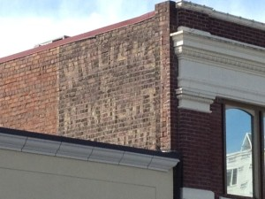Renton ghost sign