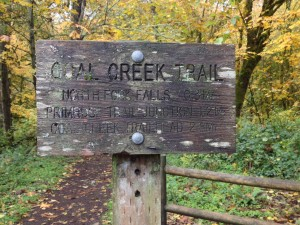Coal Creek sign